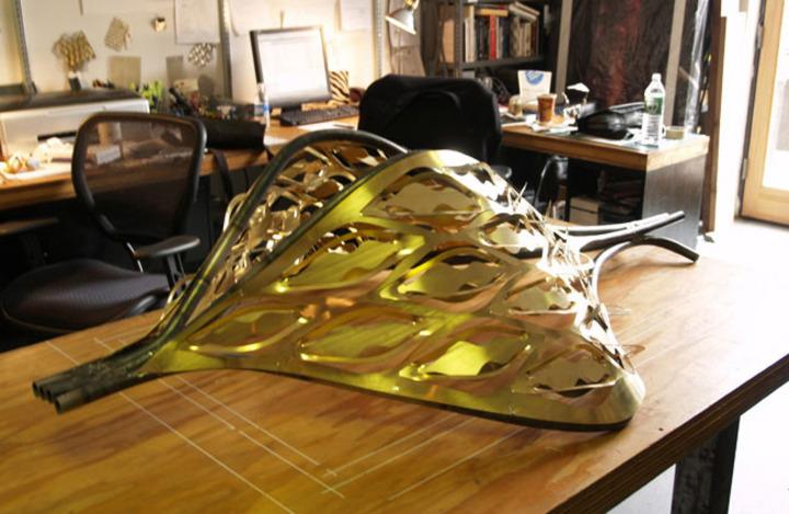 Laser Cut Brass Prototype
