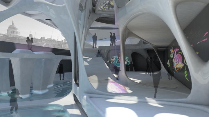 Scorpion Barge Interior