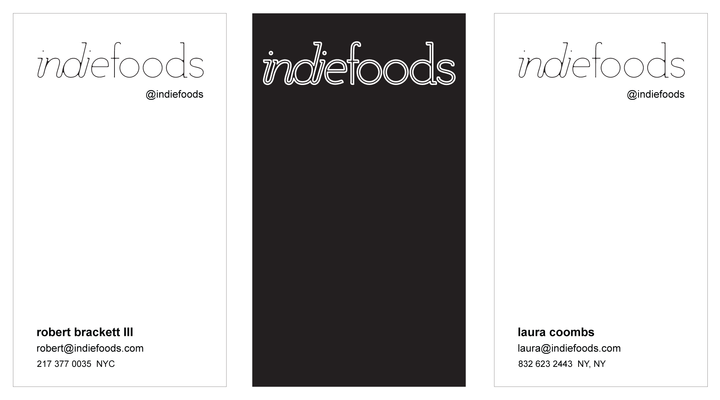 Our fancy business cards for SXSW